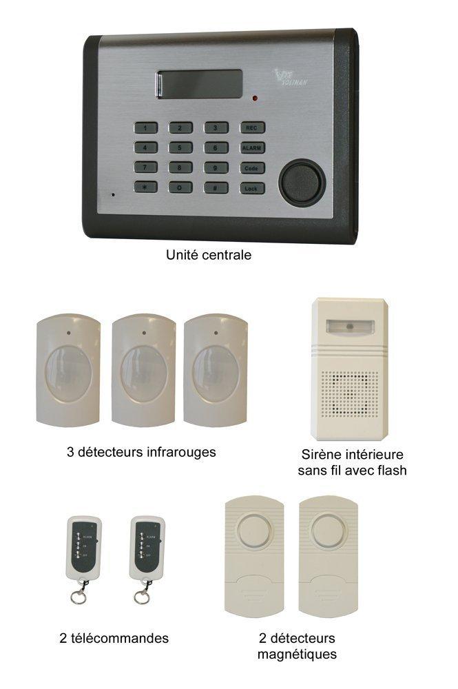 alarme maison sans fil pas cher